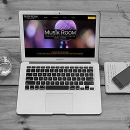 Musik Room - Création de site web