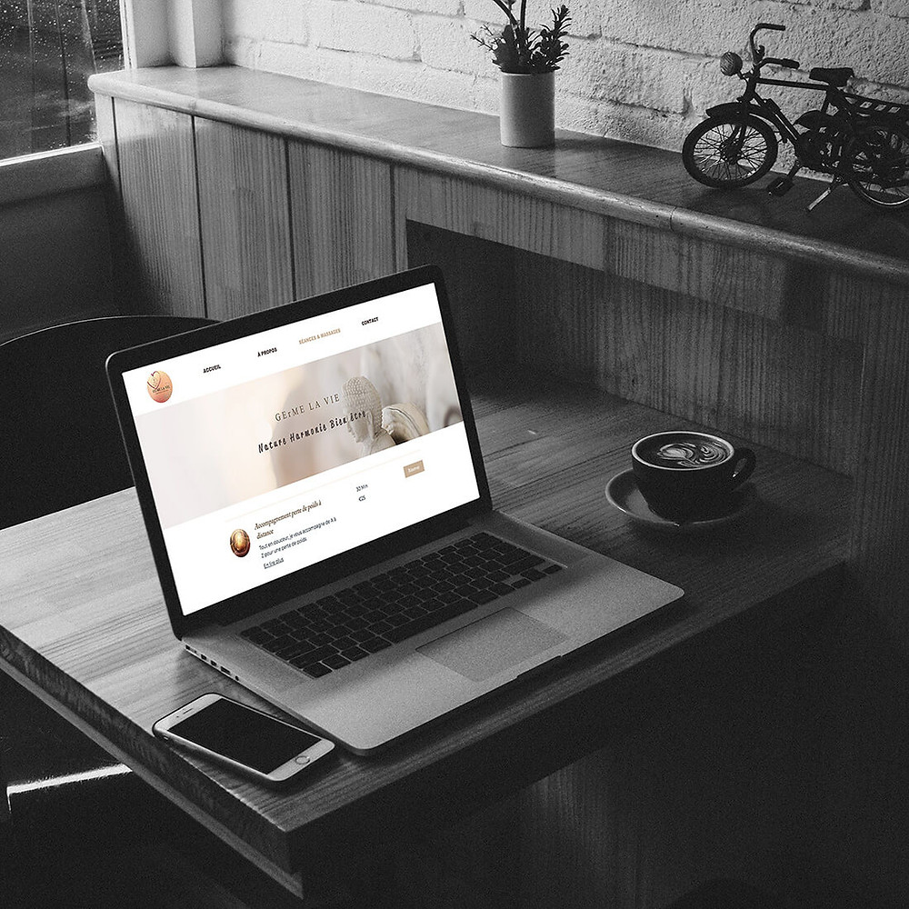 Améliorations du site pour Germelavie | Lacky Agence Web