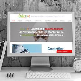 Eolia365 - Création de site web