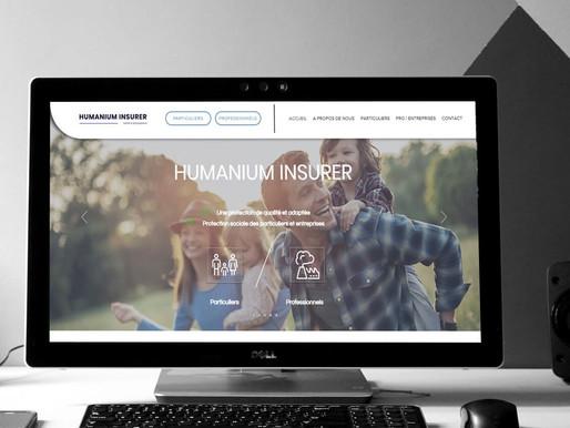"""Refonte du design du site sur Wix de """" Humanium """""""