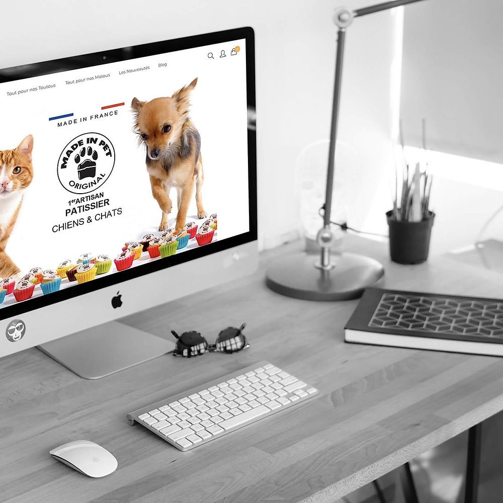 Gestion de google Ads et réalisation de l'audit pour Made in pet | Lacky Agence Web