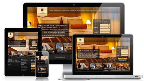 creation web hotel par lacky agence web