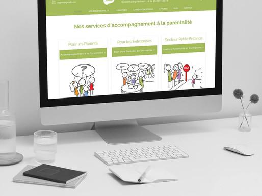 Refonte du design du site Gogivia