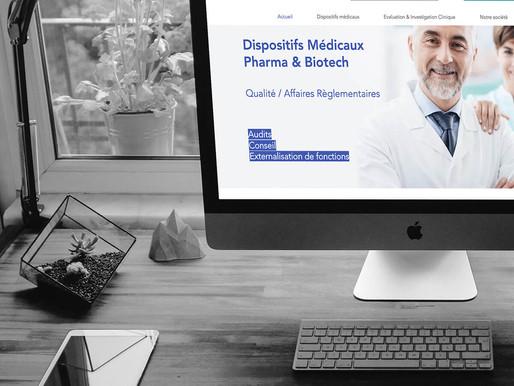 Conseils et Consulting Web pour PREISO Médical