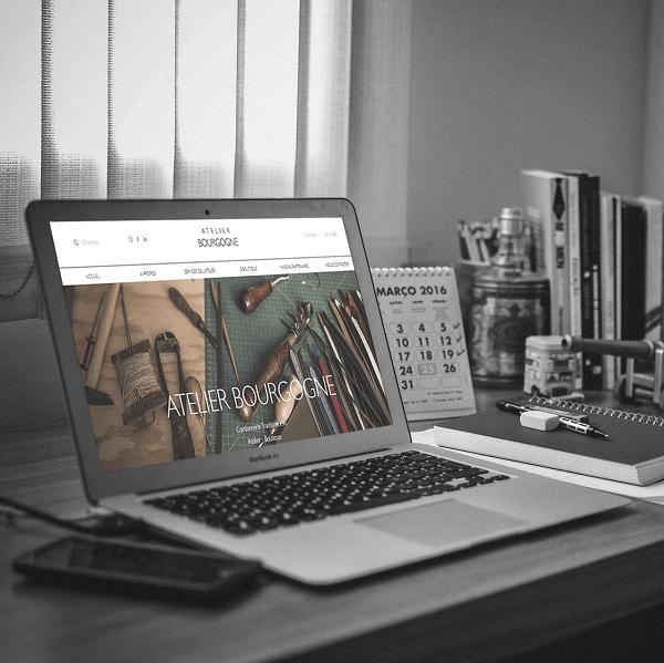 Atelier Bourgogne - Création de site web