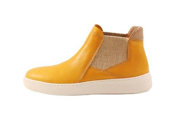Tennis boots 620 – Jaune recto
