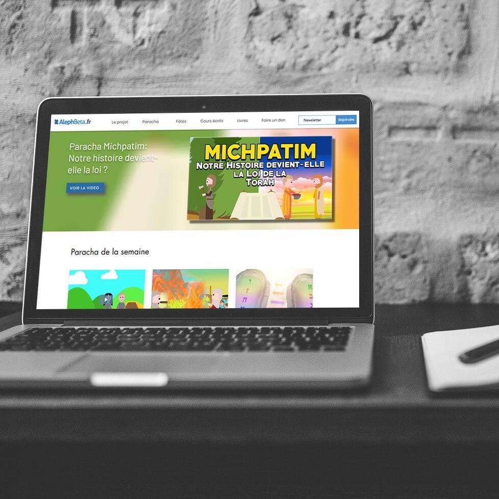 refonte et optimisation site alephbeta