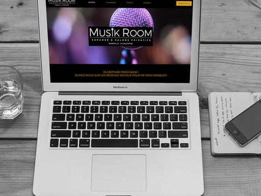 """Création et référencement du site """" Musik Room """""""