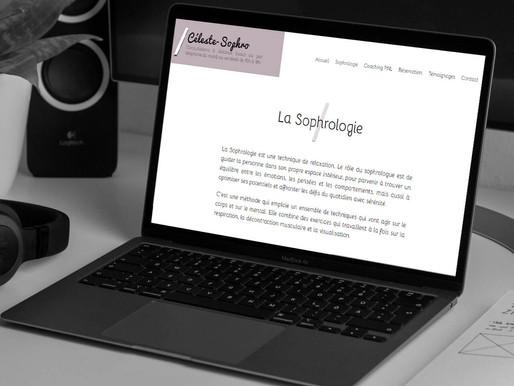 """Création du site """" Céleste Sophro """""""