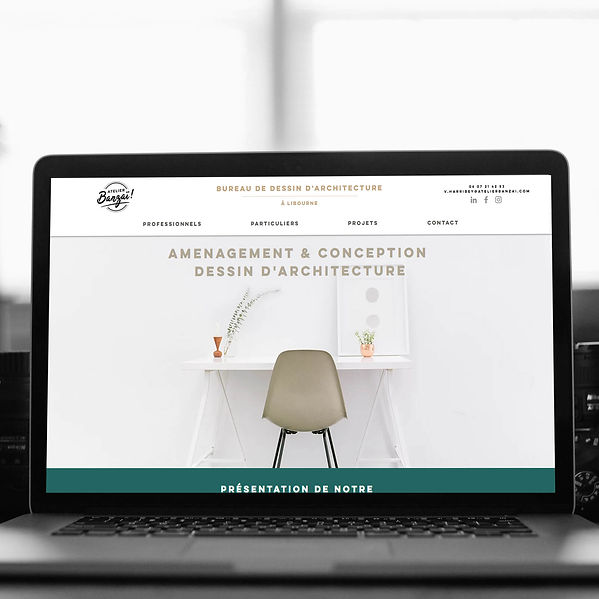 Atelier Banzai - Refonte de site web