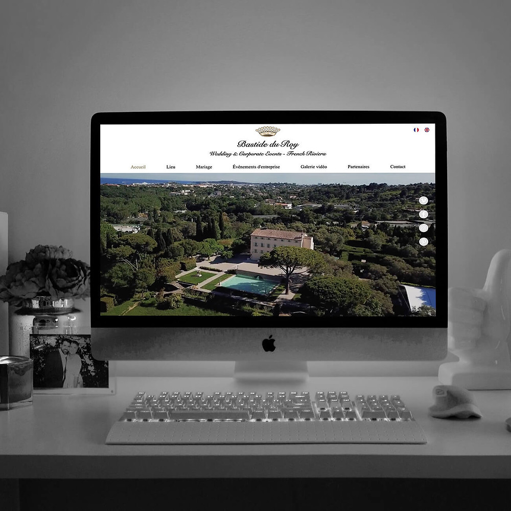Refonte du site pour Bastide du Roy | Lacky Agence Web
