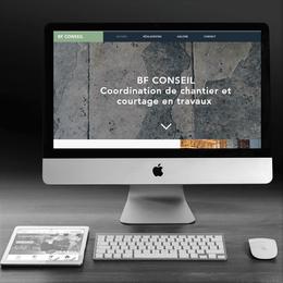BF Conseil - Création de site web