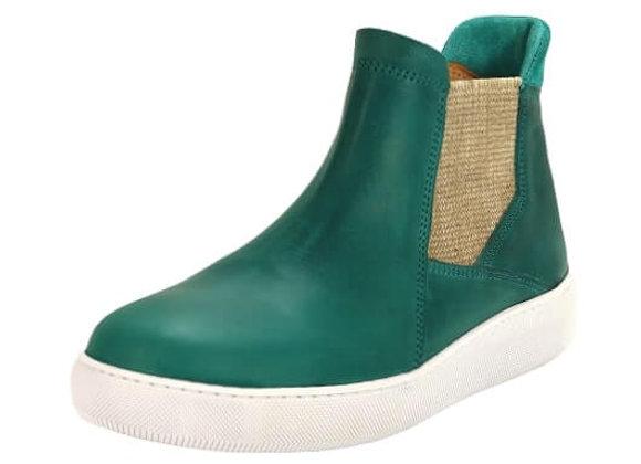 Tennis boots 620 – Vert d'eau recto
