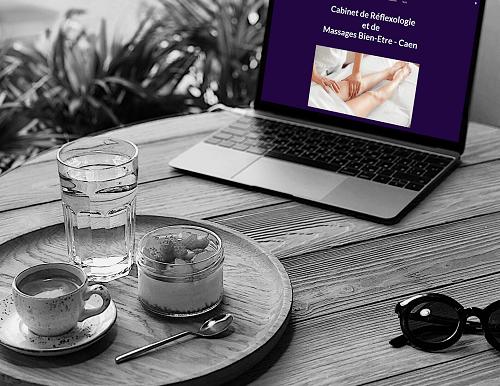 Référencement du site de Laetitia Barbet, Réflexologie et Massages Bien-Etre par l'Agence Web Lacky