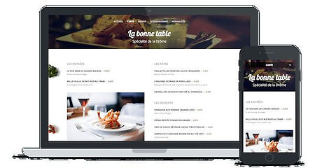 site restaurants internet par Lacky Agence Web Marseille