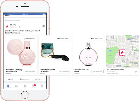 Facebook ads Lacky agece web