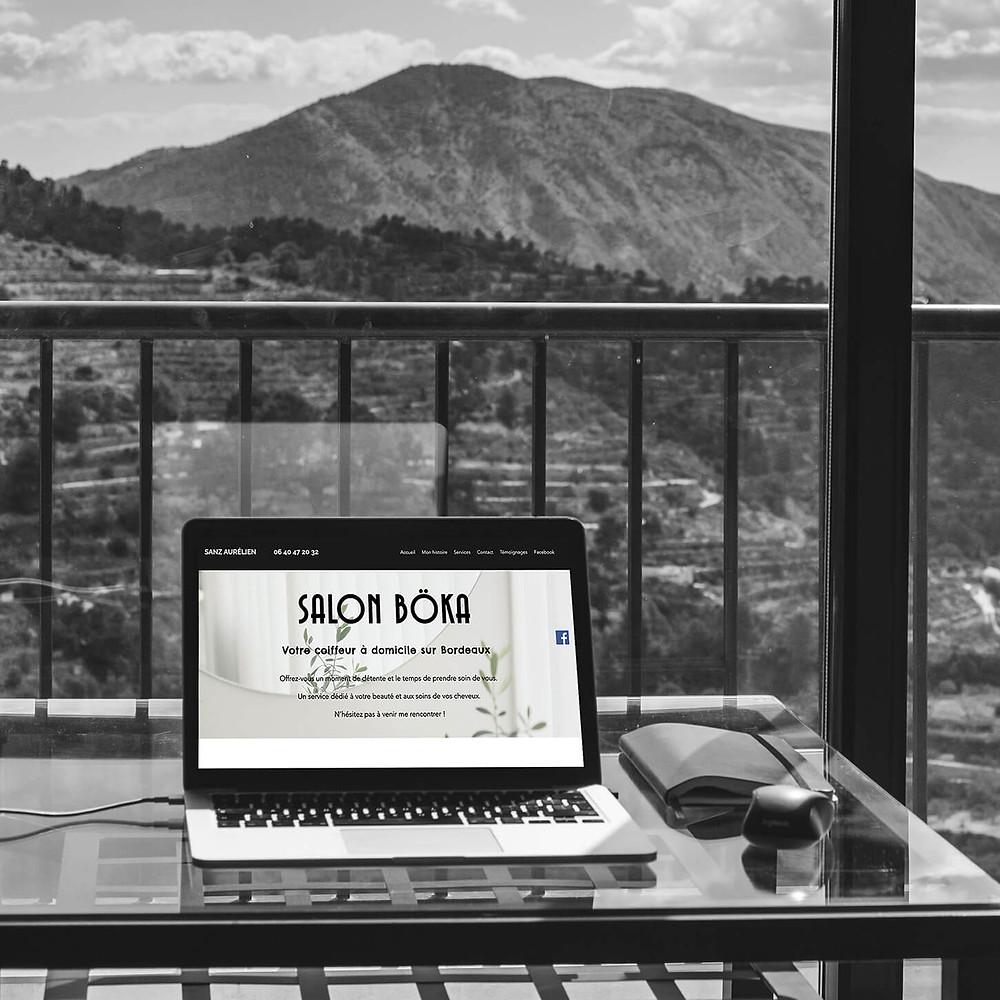 Améliorations du site SALON BÖKA   Lacky Agence Web