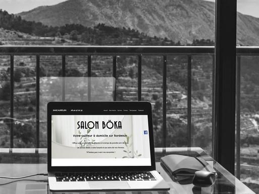 Améliorations du site SALON BÖKA