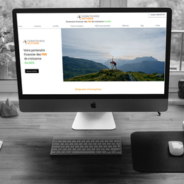 Territoires Actions - Refonte de site web
