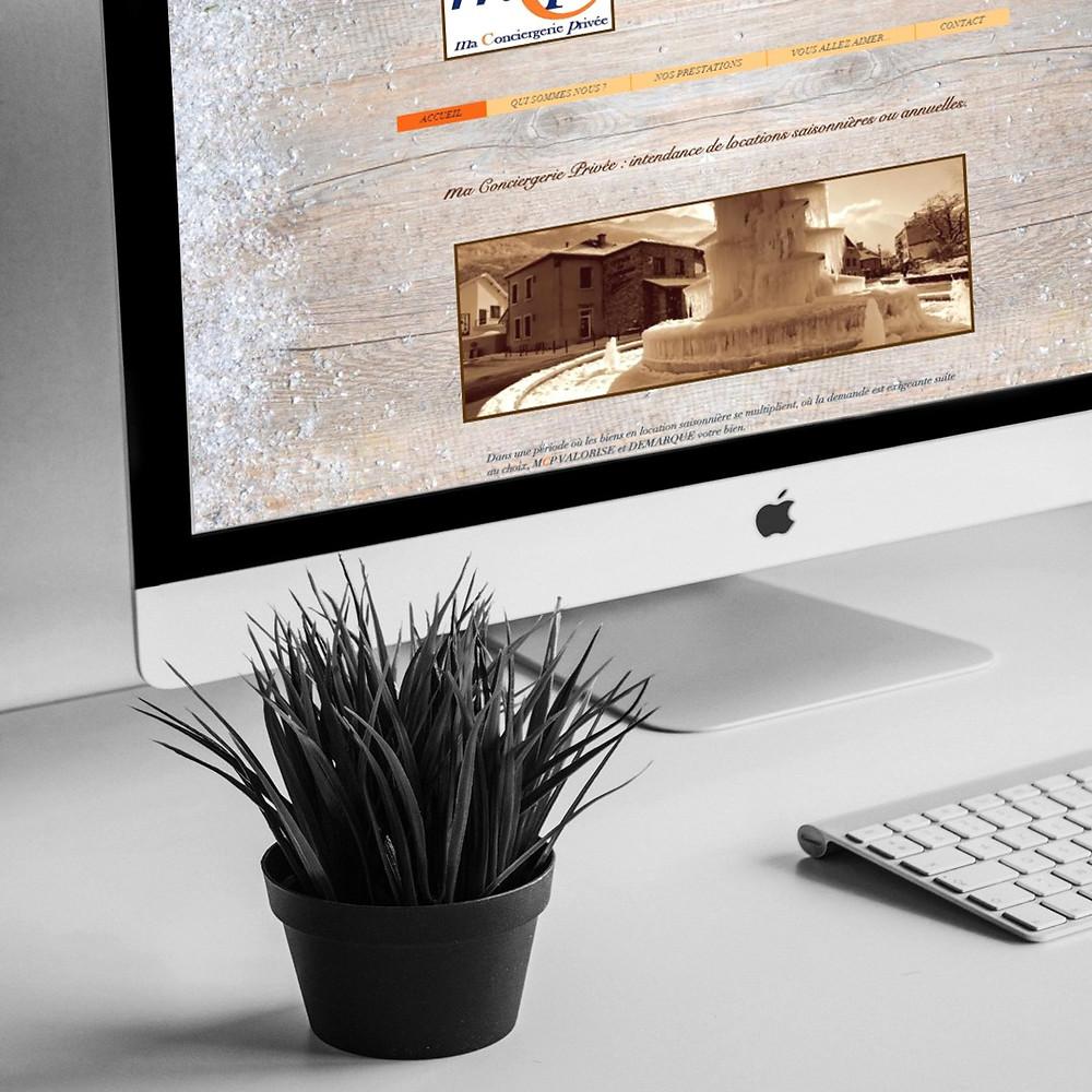 site MCP par Lacky Agence Web expert wix