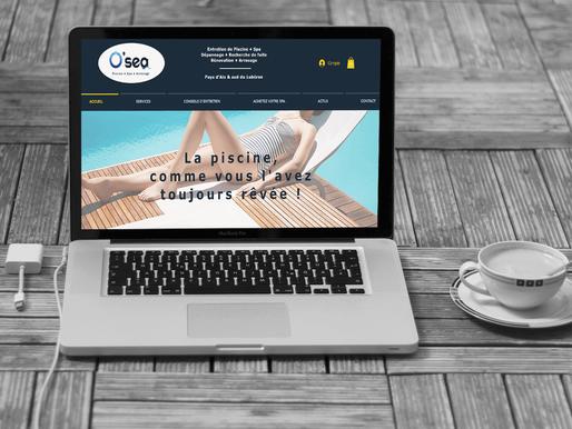 Refonte et gestion du site O'sea Piscine