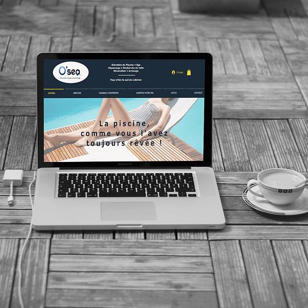 Osea Piscine - Refonte de site web