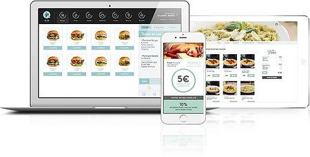 site restaurants web par Lacky Agence Web Marseille