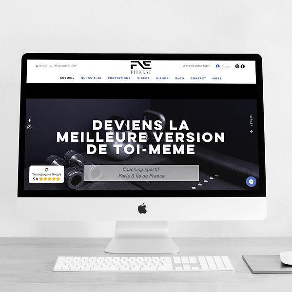 Fitneat - Refonte de site web