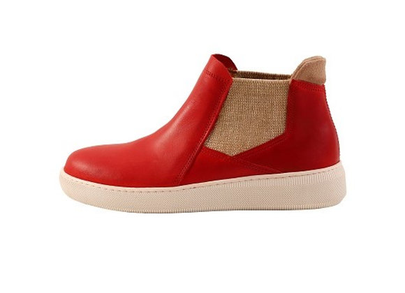 Tennis boots 620 – Rouge recto