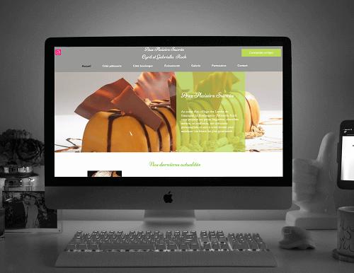 Refonte du site de Pâtisserie Roch par l'agence web Lacky