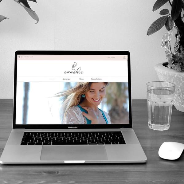 Emmalise - Refonte de site web