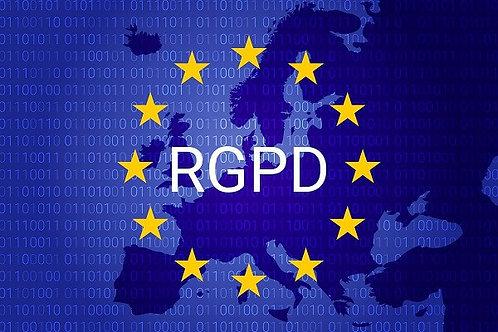 Prestation de mise en conformité RGPD pour un site en Français