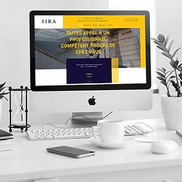 SIRA - Création de site web