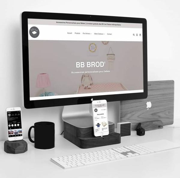 BB Brod' - Création de site web