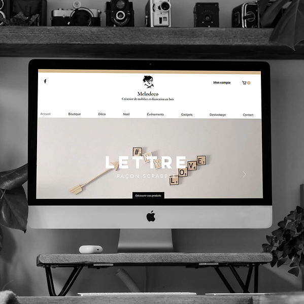 Melodeco - Refonte de site web