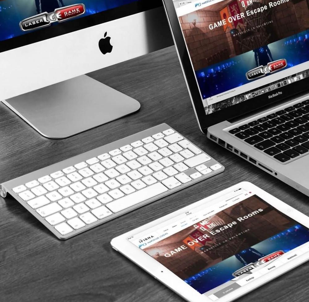 Création du site Marseille Loisirs | Lacky Agence Web