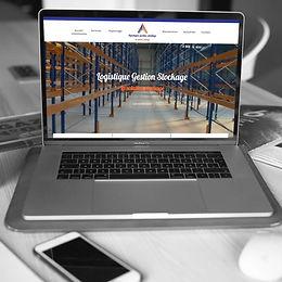 Logistique Gestion Stockage - Création de site web