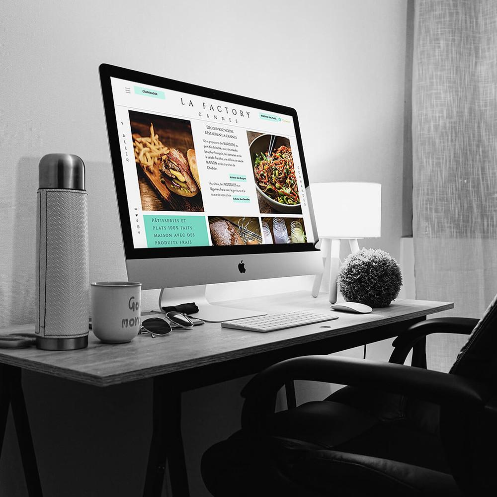 Conseils et Consulting Web pour LA FACTORY CANNES | Lacky Agence Web