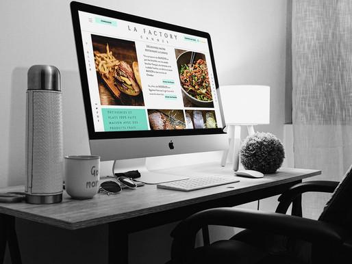 Conseils et Consulting Web pour LA FACTORY CANNES