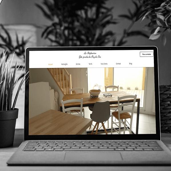 Le Stépharion - Refonte de site web