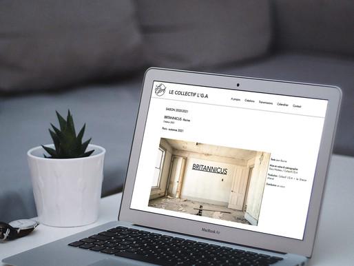 """Création du site """" LE COLLECTIF L'G.A """""""