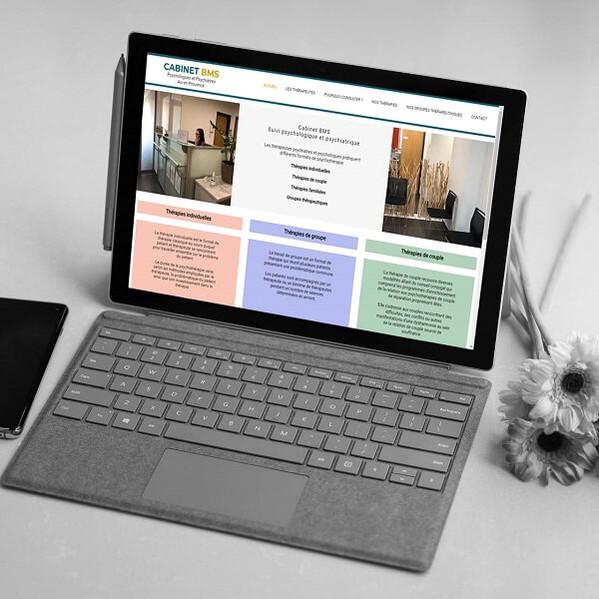 Cabinet BMS - Création de site web