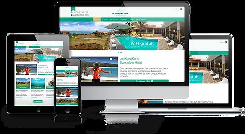 lacky web hotel site