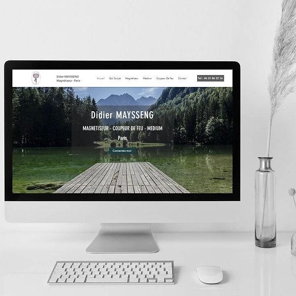 Magnétiseur Coupeur de Feu Paris - Refonte de site web