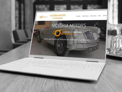 Refonte du site Victoria-Motors