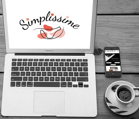 Création du logo de Simplissime par l'Agence Web Lacky