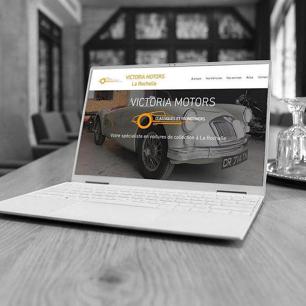 Victoria Motors - Refonte de site web