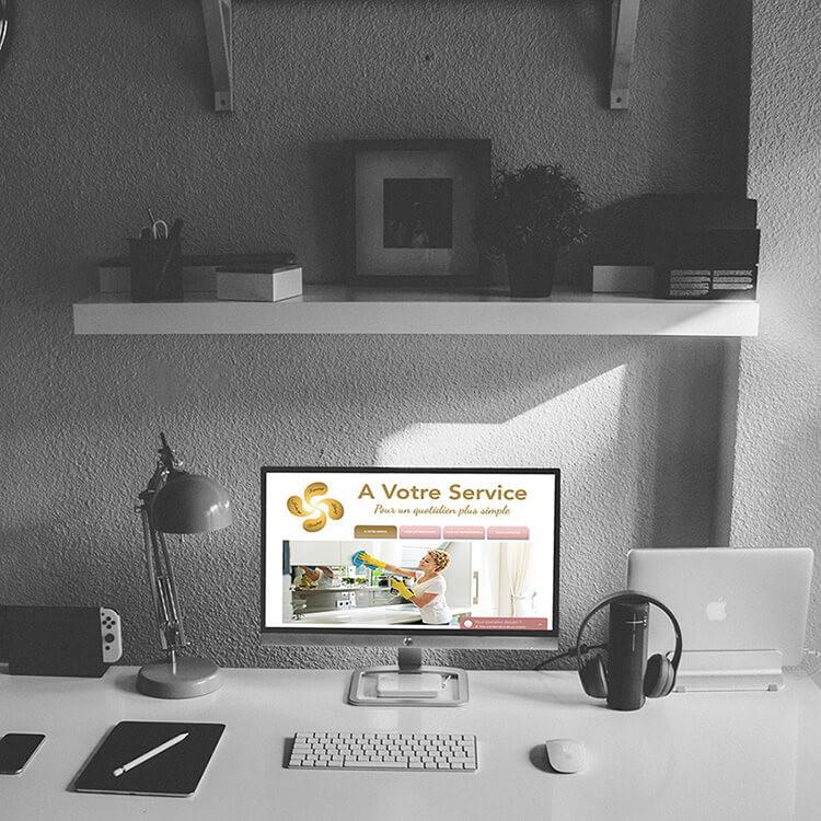 Conseils et Consulting Web pour A Votre Service 13 | Lacky Agence Web