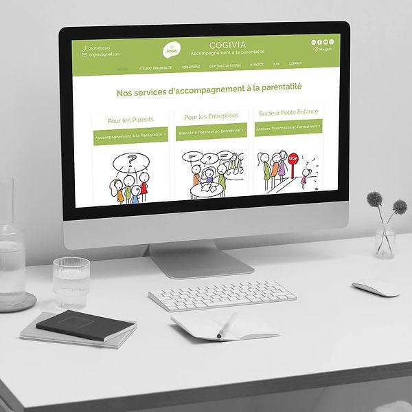 Cogivia - Refonte de site web