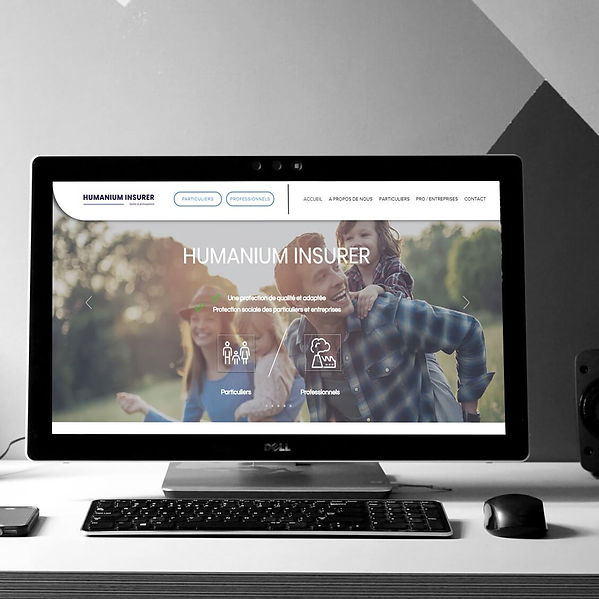 Humanium Insurer - Refonte de site web